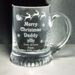 Christmas Tankard, PERSONALISED ENGRAVED ref CGT2